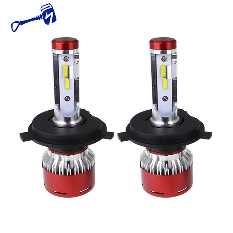 H4 LED Headlight for Car 12000LM 6500K 60W Hi/Lo Beam Bulbs White Auto Driving Lamp