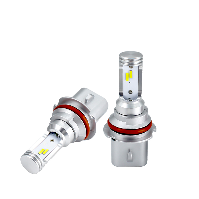 LED Atuo Lamp for 9007 high low beam 80W Canbus 12V 24V Fanless All in one Car Headlight 6000K 3000K DRL Bulb